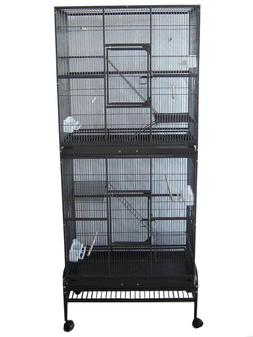 Double Style pet Cage Bird cage small animal cage parrot cag