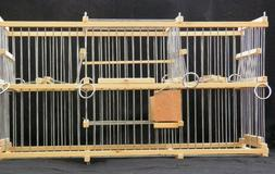Double Trap Cage For Birds :: Balance // To Trap Softly :: M