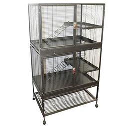 Exotic Nutrition New! Durable All-Metal Mansion Cage for Chi