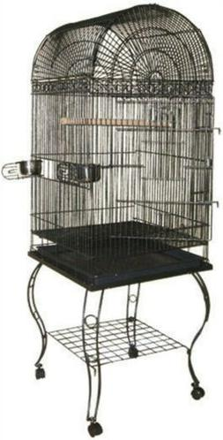 Economy Dome Top Cage Color: Black