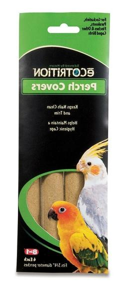 8 in 1 Ecotrition Perch Covers for Cockatiels Parakeets Finc