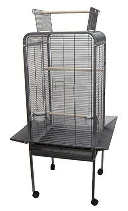 "YML EF22 1/2"" Bar Spacing Play Top Parrot Bird Cage, 22"" x 2"