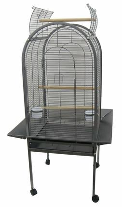 "YML ER22 1/2"" Bar Spacing Dome Top Parrot Bird Cage, 22"" x 2"