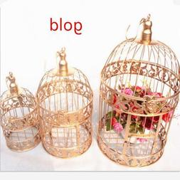 Decorative Bird Cage Window Ornaments White Photography Prop