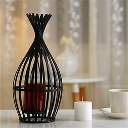 European wrought iron vintage candle holder Simple Lantern b