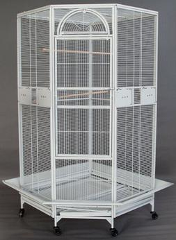 """Extra Large 63"""" Corner Cage For Cockatiel Parakeet Budgies A"""