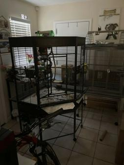 Extra Large corner parrot cage