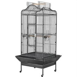 Extra Large Open Playtop Bird Cages for Mini Macaws Cockatoo