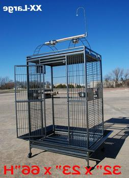 Extra Large Parrot Bird Cage For Macaw Cockatoo African Grey