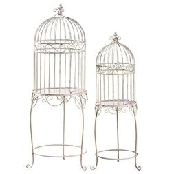 The Farmers Market Decorative Bird Cage Plant Stands, Set of