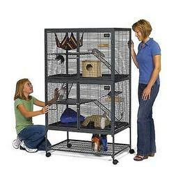 MidWest Deluxe Ferret Nation Double Unit Ferret Cage  Includ