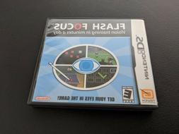 Flash Focus Vision Training in Minutes a day Nintendo DS NRM