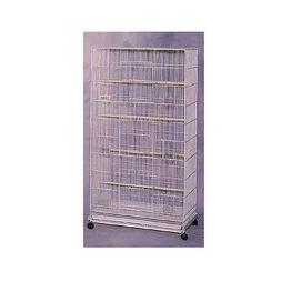 "Bird Cages FLIGHT CAGE 30*18*55"" WHITE  birdcages"