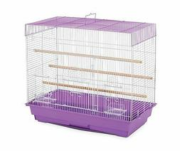Prevue Pet Products Flight Cage Lilac & White SP1804-3