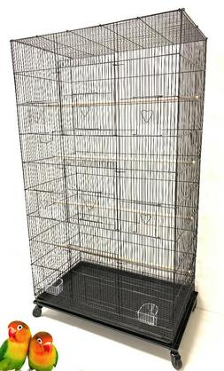 Extra Large Flight Multiple Parakeets Canaries Finches Sugar