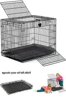 Folding Animal Wire Home Cage for Rabbit Bunny Habitat Trave