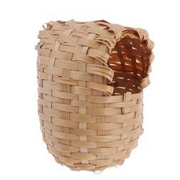 <font><b>Bird</b></font> Nest Natural Bamboo <font><b>Bird</