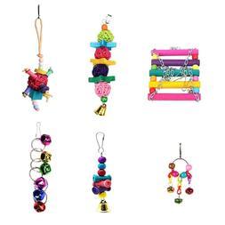 <font><b>Bird</b></font> Parrot Toys Hanging Bell Pet <font>