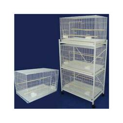 YML Four Medium Bird Cage with 2 Feeder Doors