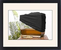Framed Print of LA-6768 Bird cage - with protective / night