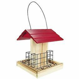 garden suet bird feeder wood bird feeder