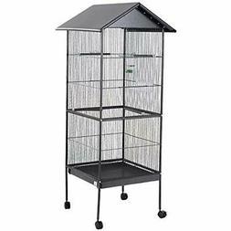 Giantex 61&quot Large Parrot Bird Cage Play Top Pet Supplies