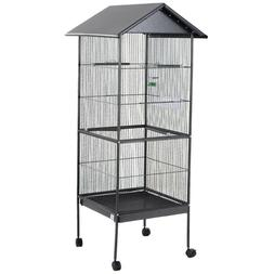 "Giantex Large Parrot Bird Cage Two Doors 61"""