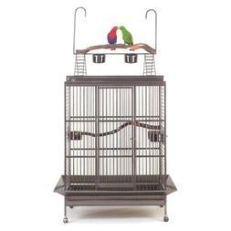 Avian Adventures Grande Playtop Bird Cage Red