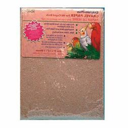 Penn Plax Gravel Paper for Bird Cage, 9 by 12-Inch