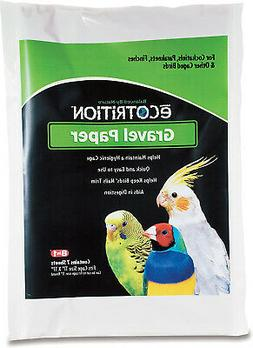 Ecotrition Gravel Paper for Birds, 8 3/4  x 13 3/8 , 7-Count