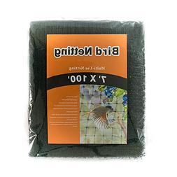 Green House Bird Netting Black 7'x100'