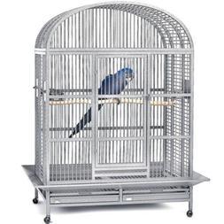 Avian Adventures Hacienda Dometop Bird Cage Platinum
