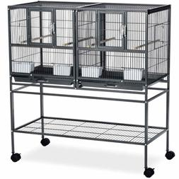 Prevue Pet Products Hampton Deluxe Divided Breeder Bird Cage