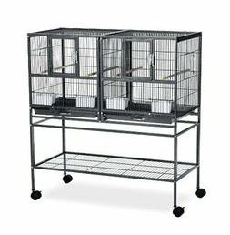 Prevue Pet Products Hampton Deluxe Divided Breeder Cage Syst