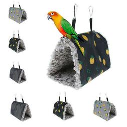 Hamster Hammock Pet Bird Rat Hanging Bed Tunnel Toy Bedding