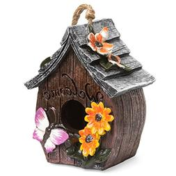 Best Choice Products Hand-Painted Decorative Bird House for
