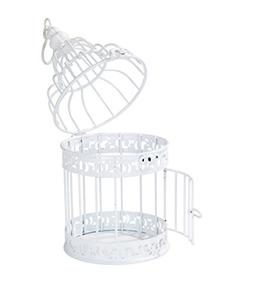 Talking Tables Be Happy White Birdcage Wedding Table Centerp