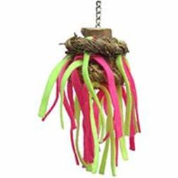 A&E CAGE COMPANY HB46611 Java Wood Tickles Assorted Bird Toy