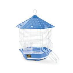 Prevue Hexagonal Homes Bali Bird Cage Blue. **Free Shipping*