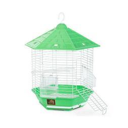 Prevue Hexagonal Homes Bali Bird Cage Green. **Free Shipping