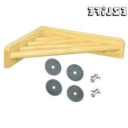 High Quality Wood <font><b>Corner</b></font> Shelf Laddered