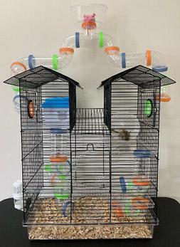 High Watch Tower Twin Roof Hamster Habit