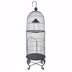 Benzara House Style Economy Bird Cage