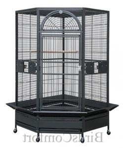 HQ Corner Bird Cage 40x22x71 by Parrodise