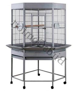 HQ Medium Corner Bird Cage 32x30x66 by Parrodise