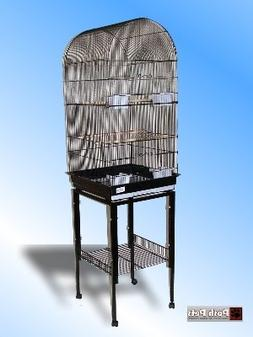 Caracas The Huge Budgie Canary Cockatiel Cage In Black With