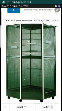 huge corner cage