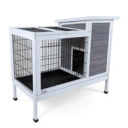 Petsfit Indoor Rabbit Hutch, Bunnies Cages, Bunny Cages Indo