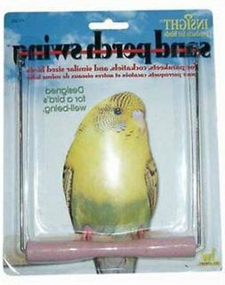 JW Pet Company Insight Sand Perch Swing Bird Toy, Small, Ass