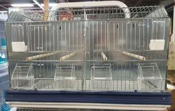#IT77 2 DOUBLE BREEDER CAGES CAN BE MOUNTED TO A WALL